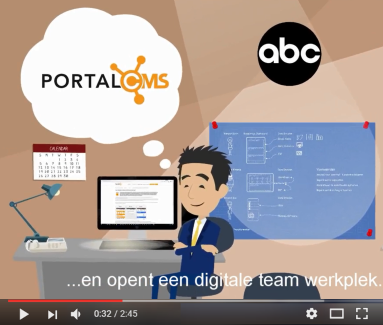 PortalCMS Digitale Teamwerkplek
