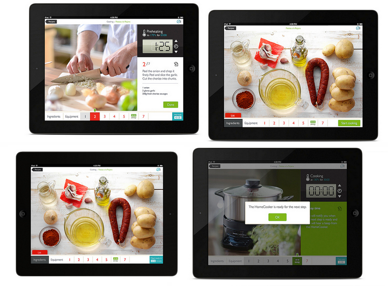 Philips Homecooker app