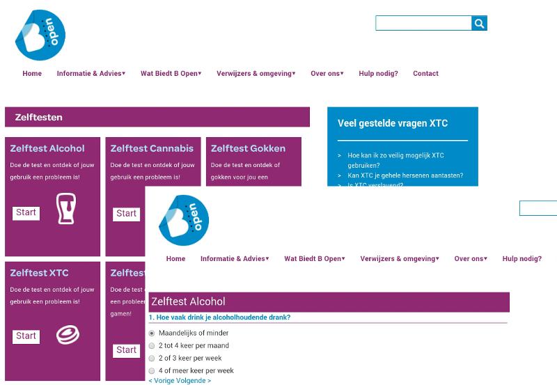 Vragenlijsten en assessments web app