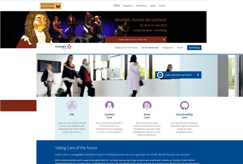 Event registratie web app